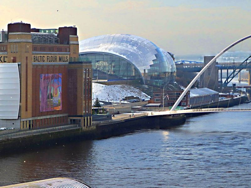 Baltic, Newcastle and Gateshead Quayside