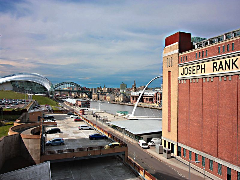 Joseph Rank, Newcastle and Gateshead Quayside